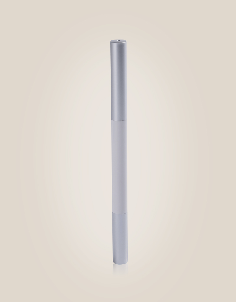 Slim-auto Mechanical Pencil Series Raindrop White Silver ZH-M001